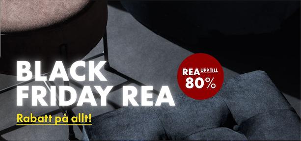 kampanjbild för black friday hos Furniturebox
